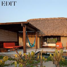 Surfing and hanging out has always played a part in rock'n'roll culture, with hippies travelling to far-flung coasts to catch the best spray. This Oaxacan shabby-chic, beach shack @hotelescondido, is making waves with keen surfers coming here to practise riding the surf, and cool kids to just bliss out. One of #THEEDIT magazine's #5oftheBest Surf Spots.