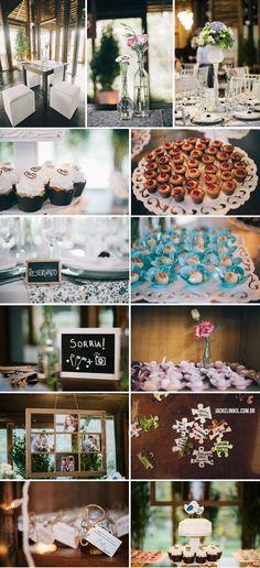 """Casamento """"Love Birds"""" - http://www.blogdocasamento.com.br/cerimonia-festa-casamento/decoracao-festa-igreja/bruna-e-bruno-love-birds/"""