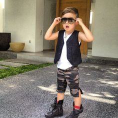 If I ever have a son.. He WILL be this cute.