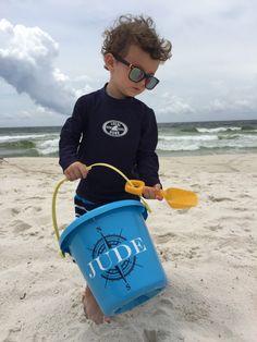 1 Personalized Sand Pail HEAVY DUTY Beach Bucket Childs