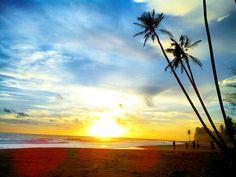 Sunset in Ujung Karang