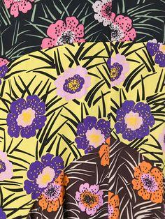 Marni floral print flared dress