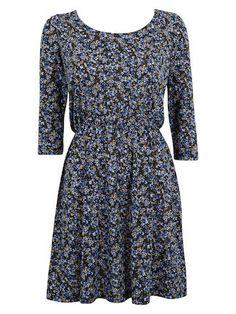 Sukienka w kwiaty - Cubus