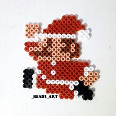 Santa Mario perler beads by  _beads_art