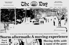 Blizzard of 1978 Ct State, New London, Do You Remember, Connecticut, Birth, Memories, Day, Souvenirs, Remember This