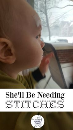 She'll be needing stitches ... and an antihistamine. | Fit Bottomed Mamas