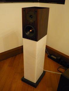 12 Best Speaker Stands Images Diy Speakers Diy Computer
