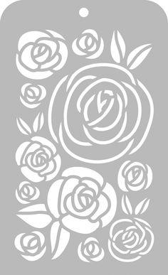 Templates, Stencils & Masks - Templates, Stencils & Masks Printable Stencil Patterns, Wall Stencil Patterns, Stencil Templates, Printable Designs, Stencil Designs, Free Stencils, Stencil Stickers, Stencil Decor, Flora Und Fauna