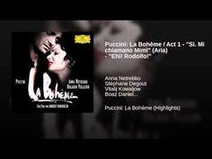 "ANNA NETREBKO sings  -- Puccini: La Bohème / Act 1 - ""Sì. Mi chiamano Mimì"" (Aria) - ""Ehi! Rodolfo!"""