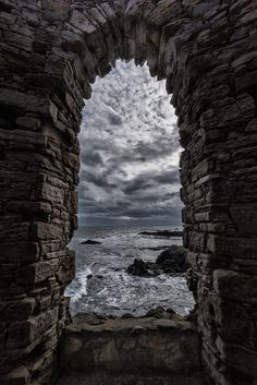 The Lady's Tower - Elie, Fife, Scotland