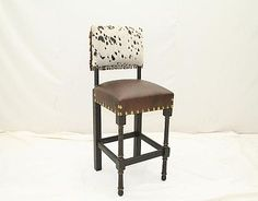 Bar 35 Short Stag Barstool from Old Hickory Tannery