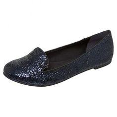 Um slipper azul marinho para chamar de seu *-* www.fiveblu.com.br