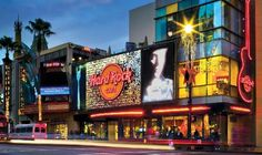Hard Rock Cafe on Hollywood Blvd. I ate french fries off the actress who played Jenny Piccalo's plate (Happy Days).