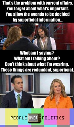 Russel Brand.. I wasn't sure which board to pin this to, but this interview was pathetic & these people should be ashamed of themselves.
