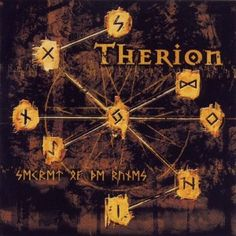 Therion - Secret of the Runes - album cover
