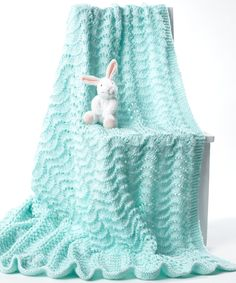Easy Baby's Blanket - Free Pattern