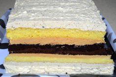 Prajitura cu caramel si nuci   MiremircMiremirc Creme Caramel, Vanilla Cake, Biscuits, Desserts, Recipes, Food, Pies, Crack Crackers, Essen