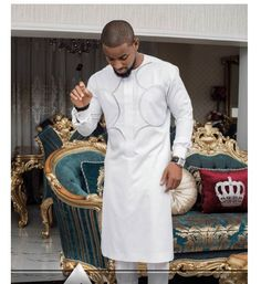 Shop African clothing from our store at the best price. Check out our latest collection of African clothing now! African Inspired Fashion, African Men Fashion, African Fashion Dresses, African Attire, African Wear, African Dress, African Shirts For Men, African Clothing For Men, Dashiki For Men