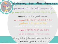 The Jelly Bean Prayer for Teachers