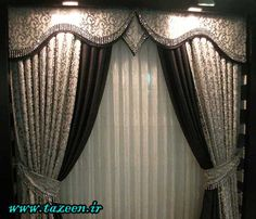 40 Amazing & Stunning Curtain Design Ideas 2017 | Curtain designs ...