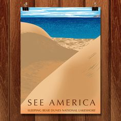 Check out the See Michigan posters that are a part of the new See America project, including some of Sleeping Bear Dunes National Lakeshore!