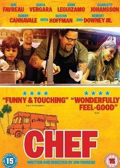 """観終わったあと、何だかとってもハッピーになった。 そして """"映画ってエンターテイメントだなー"""" とつくづく思った。 原題は """"Chef""""。 一流レストランのシェフが、あるグルメ評論家のブログでボロクソに叩かれ、店のオーナーとも考えが合わないことから喧嘩になりレストランを去..."""