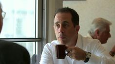 "In an episode of Comedians In Cars Getting Coffee called ""Larry Eats A Pancake,"" Jerry Seinfeld has coffee with Larry David."