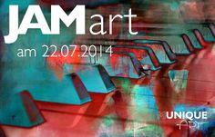 MuniqueART – JAMart… Musik zum Feierabend am Dienstag, den 22. Juli ab 19 Uhr. Ein spon ...