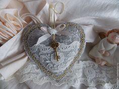 Купить Подвески сердечки - серый, подвеска, сердце, сердечко, романтика, подарок, подарок девушке, кружево