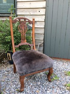 Upholster your chairs with Dorset sheepskin...