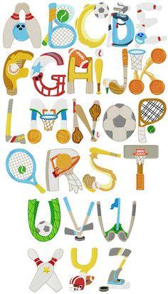 Alfabeto Deportes