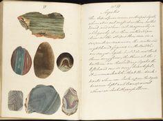 design-is-fine:  Richard Cust, Drawings of Minerals, 1830. © The University of Edinburgh. Via Europeana