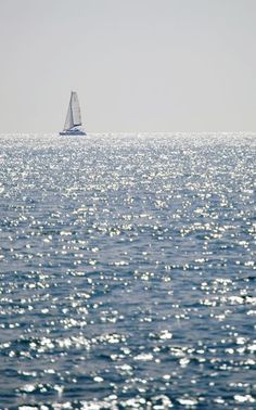 Sailboat, Mediterranean