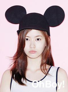 Jung So Min graces the August edition of OhBoy! Young Actresses, Korean Actresses, Korean Actors, Actors & Actresses, Jung So Min, Dramas, Playful Kiss, Popular Manga, Kim Woo Bin