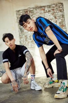 Jay Park and Gray<<< they deadass the dream team Jay Park, Park Jaebeom, Jaebum, Gray Aomg, Kpop Rappers, Music X, Korean American, Hip Hop And R&b, Asian Boys