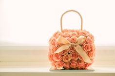 purse flower bouquet by Casino Wedding, Beloved Book, Bride Bouquets, Designer Gowns, Wedding Book, Wedding Inspiration, Wedding Photography, Couture, Purses