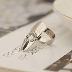 Heart Nail Ring <3