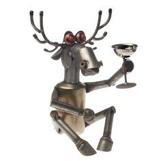 Richard Kolb Yardbirds Recycled Junk Metal Elk Sculpture