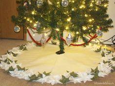 Нарядная юбка для новогодней елки