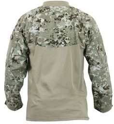 Total Terrain Camouflage Heat Resistant Military Tactical Combat Shirt & Patches