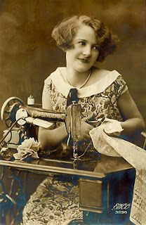 The Sum Of All Crafts: image collection-women (sewing)
