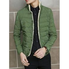 Clothes Type: Down & Parkas  Material: Polyester, Cotton  Collar: Mandarin Collar  Clothing Length: Regular  Style: Fashion  Weight: 1KG  Sleeve Length: Long Sleeves  Season: Winter  Package Contents: 1 x Coat  SizeBustLengthShoulder WidthSleeve Length L106654363 XL1106644....