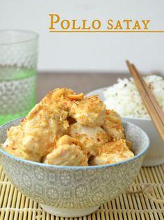 Pollo satay, receta asiatica   Cuuking! Recetas de cocina