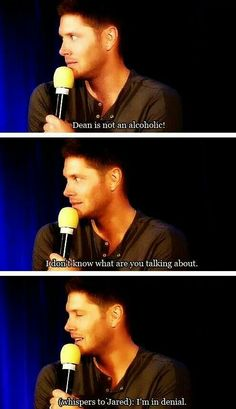 """""""Dean"""" and """"I"""" ...... they're the same person!!!"""