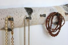 Hey, I found this really awesome Etsy listing at http://www.etsy.com/listing/151264321/long-rustic-birch-necklace-display
