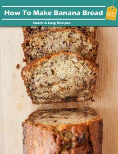 How To Make Banana Bread Recipe In 10 Minutes #bananabread #recipe #cook