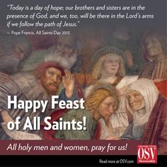 Blessed Feast of All Saints!