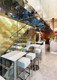 Rossi & Rossi bakery, Milan, Italy designed by Andrea Langhi
