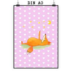 Poster DIN A0 Fuchs Sterne aus Papier 160 Gramm  weiß - Das Original von Mr. & Mrs. Panda.  Jedes wunderschöne Motiv auf unseren Postern aus dem Hause Mr. & Mrs. Panda wird mit viel Liebe von Mrs. Panda handgezeichnet und entworfen.  Unsere Poster werden mit sehr hochwertigen Tinten gedruckt und sind 40 Jahre UV-Lichtbeständig und auch für Kinderzimmer absolut unbedenklich. Dein Poster wird sicher verpackt per Post geliefert.    Über unser Motiv Fuchs Sterne  Die Fox-Edition ist eine…