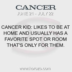 Fact about Cancer: Cancer Kid: Likes to be at home and usually has a... #cancer, #cancerfact, #zodiac. Cancer, Join To Our Site https://www.horozo.com  You will find there Tarot Reading, Personality Test, Horoscope, Zodiac Facts And More. You can also chat with other members and play questions game. Try Now!